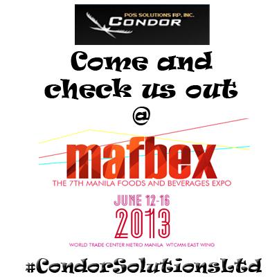 Condor POS Solutions RP Inc. At Mafbex 2013