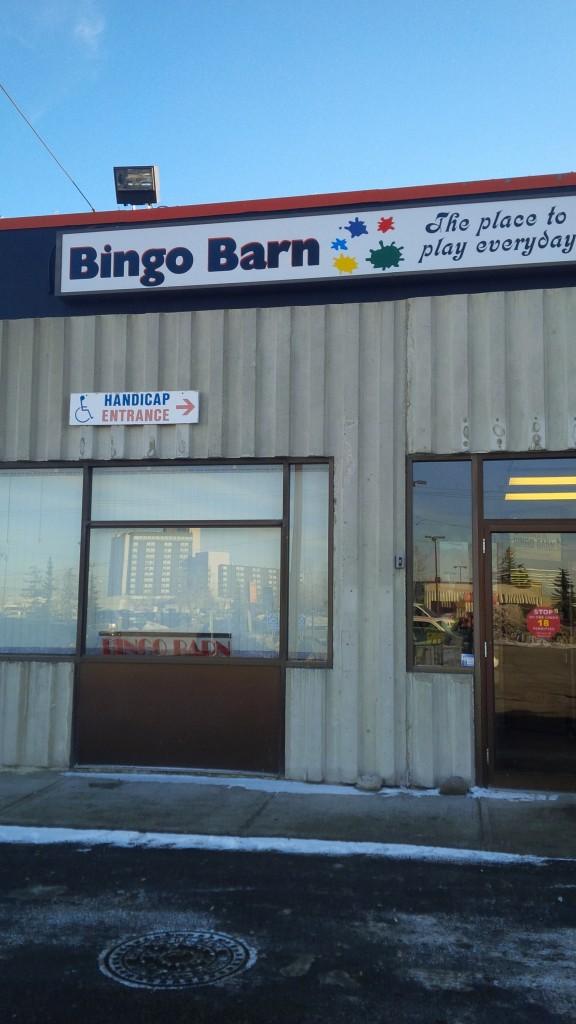 Bingo Barn Install