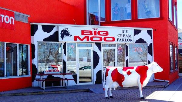 The Big Moo Ice Cream Parlor